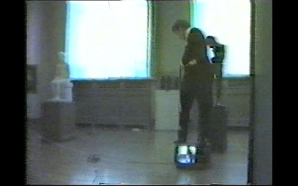 Morten Børresen, stillbilde fra Nasjonalgalleriet, video, 1981-1982