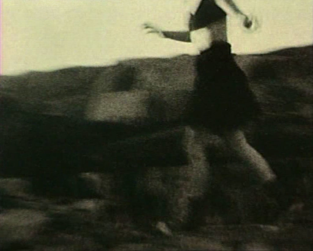 Inghild Karlsen, stillbilde fra Running, video, 1988