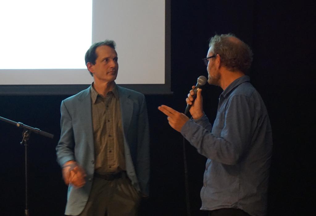 Jon Ippolito og Per Platou. Foto: Ketil Nergaard